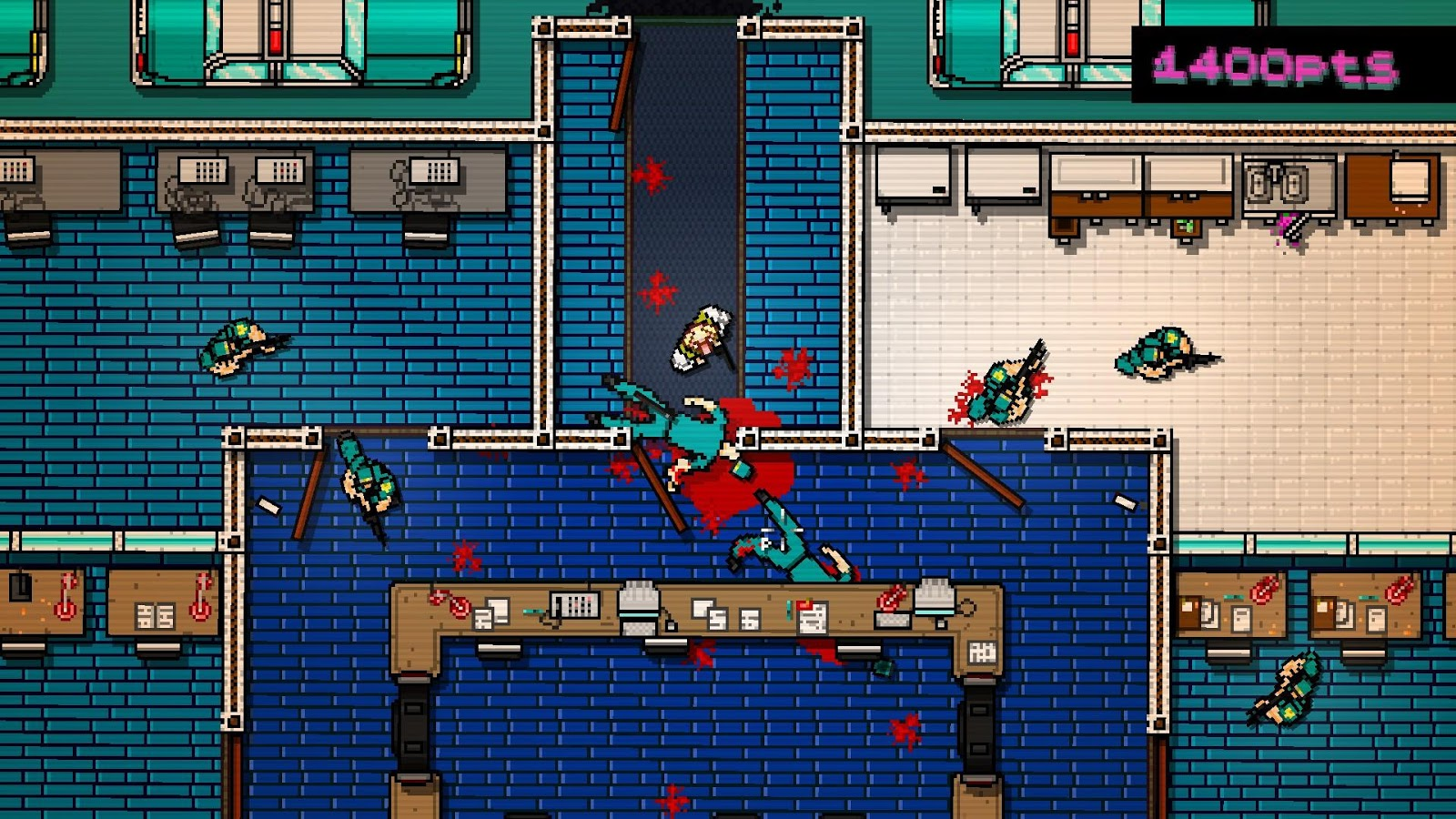 Hotline Miami- screenshot