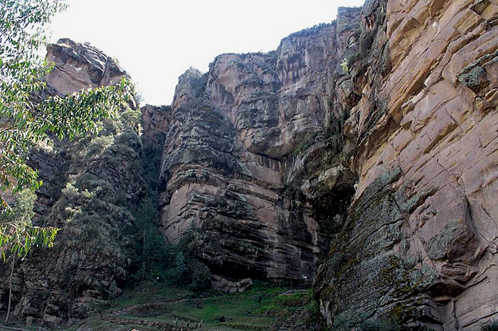 Vista natural representativa de Ccorca
