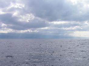 Photo: Снова в пути. На горизонте - остров Пику