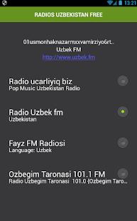 RADIOS UZBEKISTAN FREE - náhled