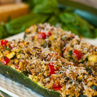 Vegetarian Stuffed Zucchini Recipe