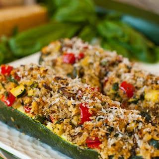 Vegetarian Stuffed Zucchini Recipe