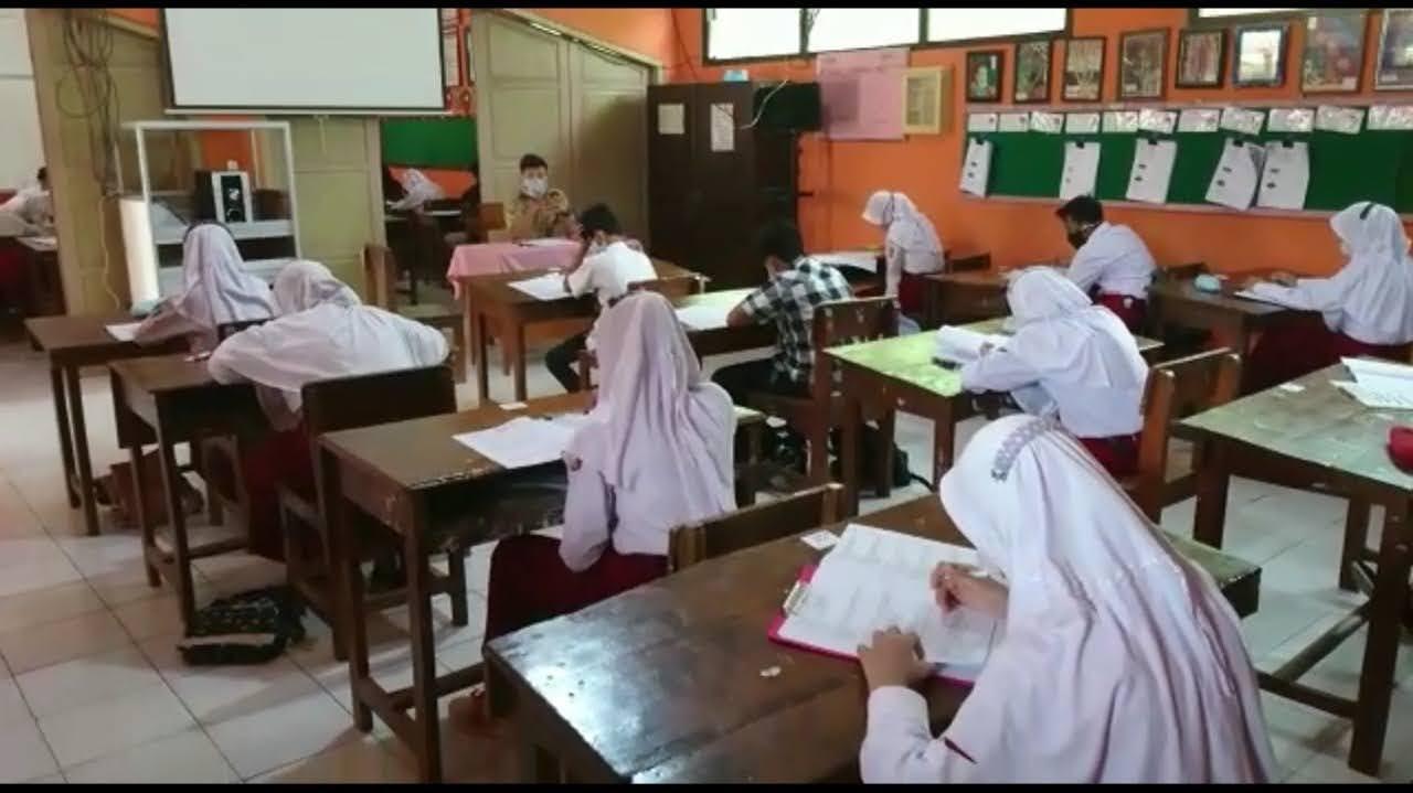Ujian Sekolah di Magetan Kelas VI SD Dilaksanakan Tatap Muka Disekolah Selama 4 Hari