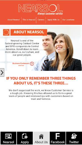 Nearsol Recruitment App
