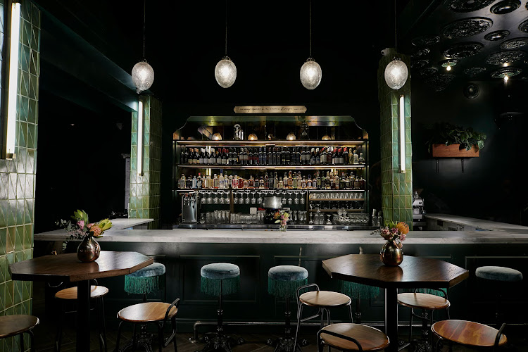The bar at Streetbar Named Desire. Interiors by Studio A and Jana + Koos.