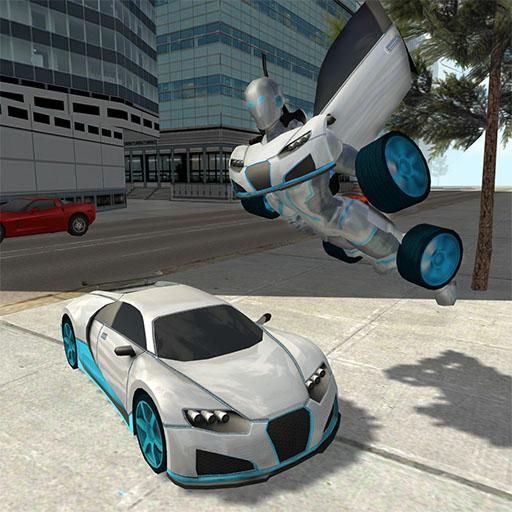 Flying Car Robot Simulator (game)