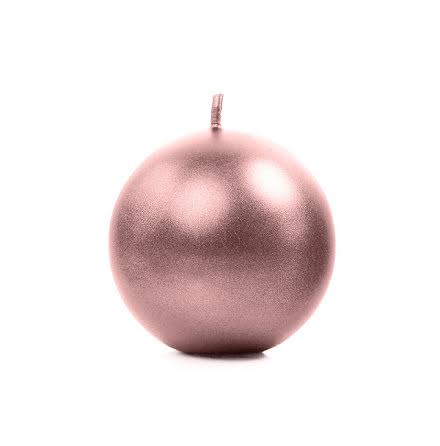 Klotljus roséguld, 8 cm