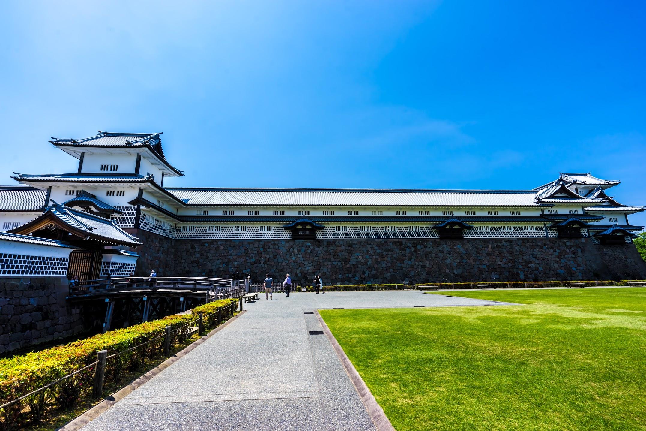 金沢城公園 菱櫓・五十間長屋・橋爪門続櫓1