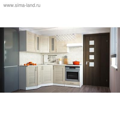 Кухонный гарнитур Лира мега оптима 2000*1500