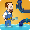 Home Pipe: Water Puzzle icon
