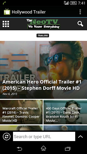 Hollywood Trailers