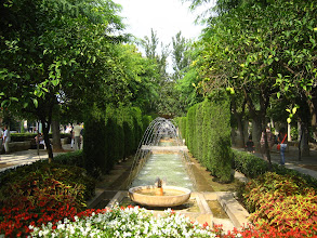 Photo: Palma Katedrali'nin önündeki park.    Park in front of the Palma Cathedral.