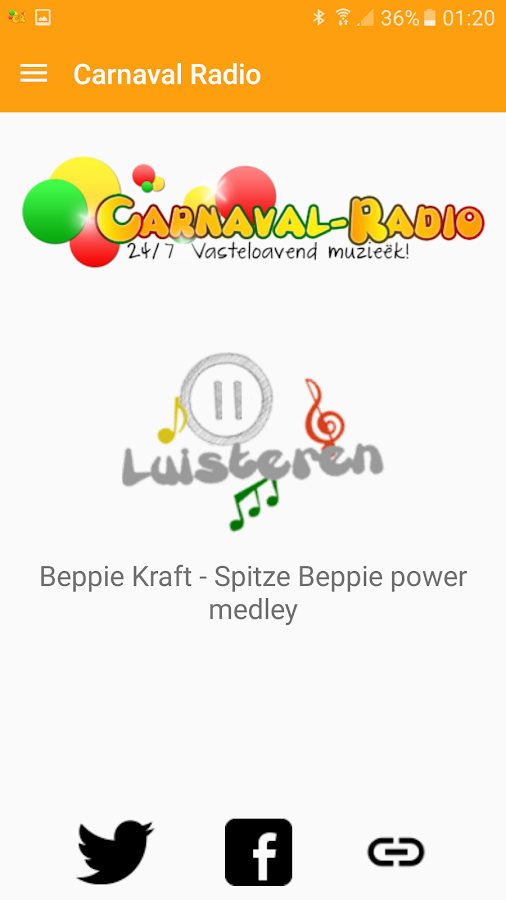Carnaval Radio- screenshot