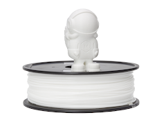 White MH Build Series TPU Flexible Filament - 2.85mm (1kg)