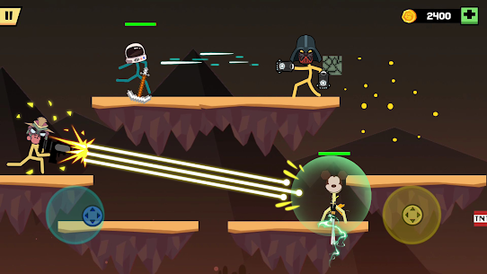 Stickman Fight Battle MOD APK (Unlimited Money/No Ads) for Android 2