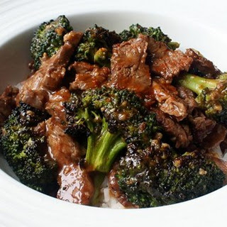 Charred Broccoli Beef.