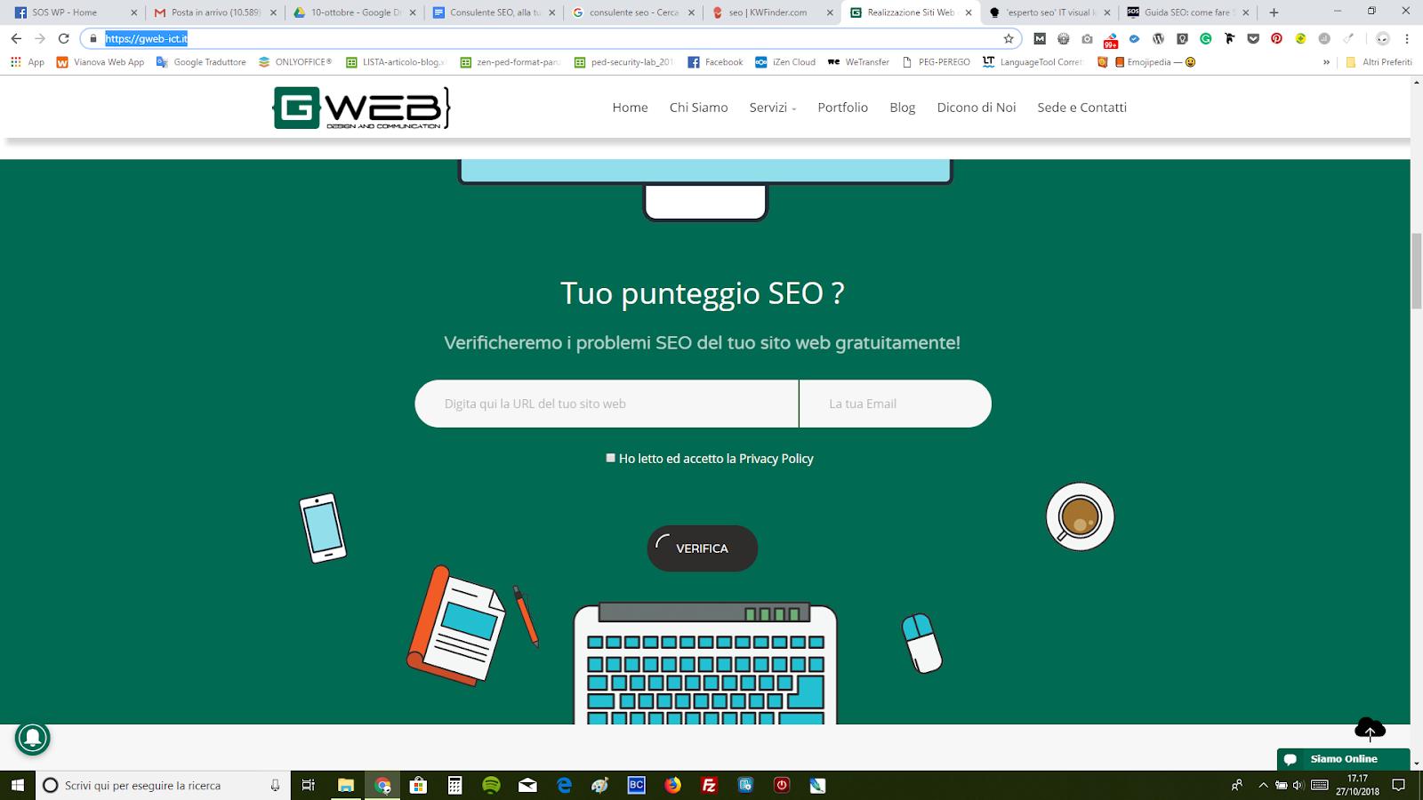 analisi seo del tuo sito web