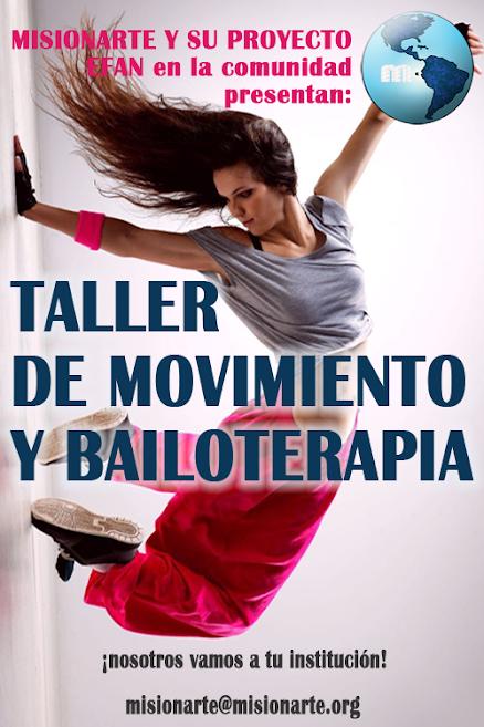 Taller de Movimiento y Bailoterapia
