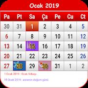 Türkiye Takvimi 2018 - 2019