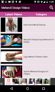 Mehendi Design Videos screenshot 1