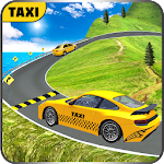 Modern Taxi Hill Drive Icon