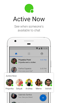Messenger Lite APK screenshot thumbnail 4