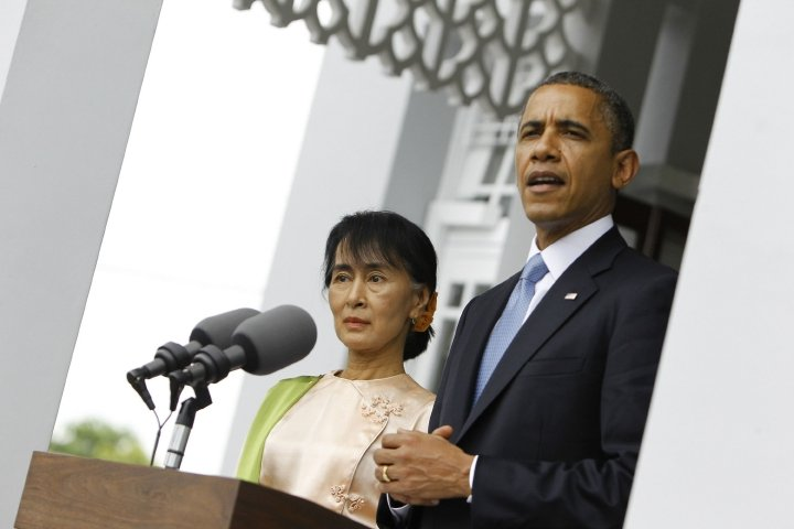 Obama brings hope, joy and gridlock on historic Myanmar visit