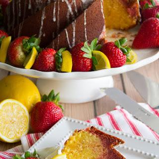 Strawberry Lemonade Bundt Cake