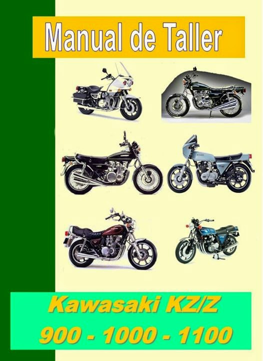 Kawasaki kz 1000 manual-taller-servicio-despiece