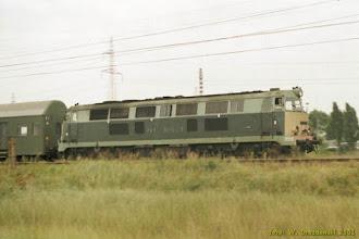 Photo: SU45-129, Sierpc - Toruń Główny {Toruń Elana; 2001-08-10}