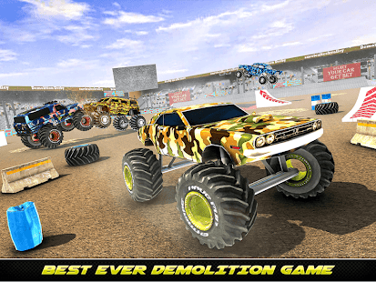 Army Monster Truck Demolition : Derby Games 2020 for PC-Windows 7,8,10 and Mac apk screenshot 8