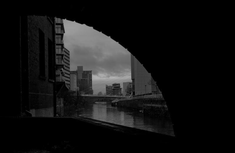 Photo: Blackfriars arch on the River Irwell