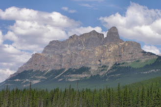 Photo: Everyone should have a favourite mountain and this is mine.  Castle Mountain.