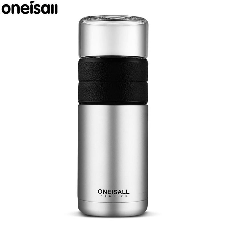 5. กระติกน้ำเก็บความเย็นแบบพกพา ONEISALL Thermos cup 304