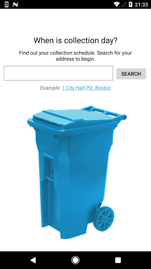Boston Trash Schedule & Alerts- screenshot