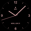 Rose Gold Watch Face icon