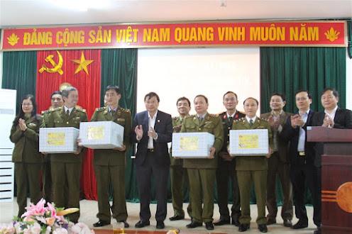 Chúc Tết Cục Quản lý thị trường Nghệ An