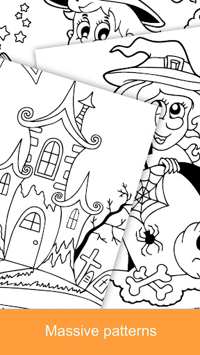 2021 Halloween Coloring Books 2.1.3 screenshots 4