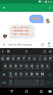 TouchPal Emoji Keyboard- screenshot thumbnail