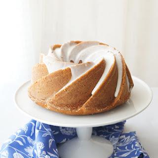 Toffee Bundt Cake with Mandarin Orange.