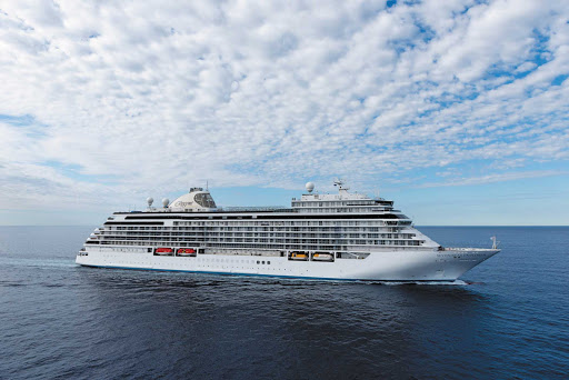 """Seven Seas Explorer, dubbed """"the most luxurious ship ever built,"""" sails the Mediterranean in summer and Caribbean in winter."""