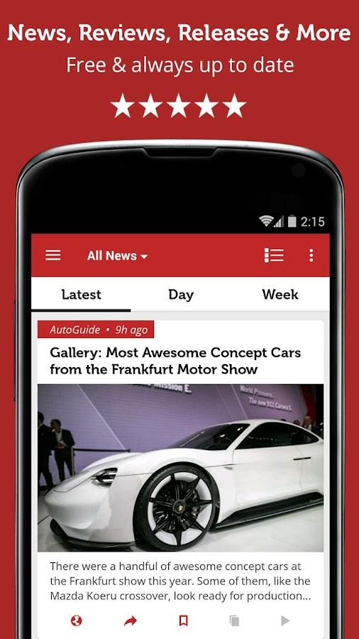 Auto News & Reviews- screenshot
