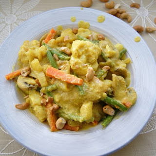 Cashew Vegetable Korma