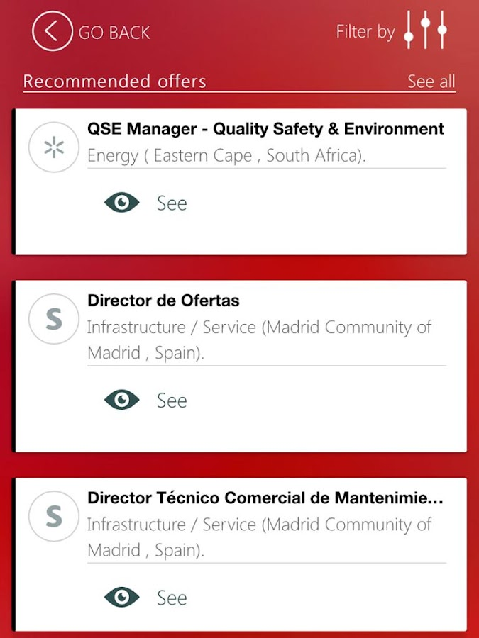 ACCIONA Jobs- screenshot
