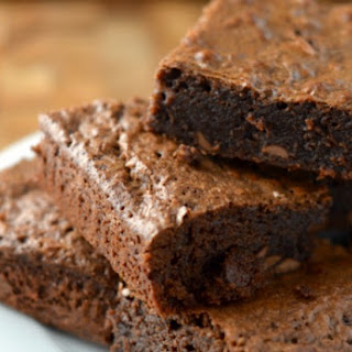 Triple Chocolate Fudgy Brownies