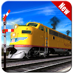 Train Racing Simulator 3D Icon
