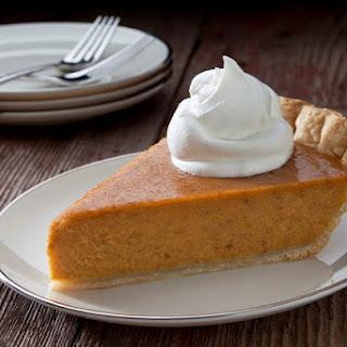 Brown Sugar Pumpkin Pie.