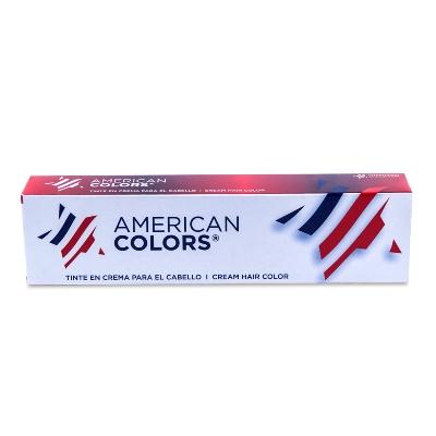 Tinte American Colors Tubo 10.1 Rubio Ceniza Super Claro