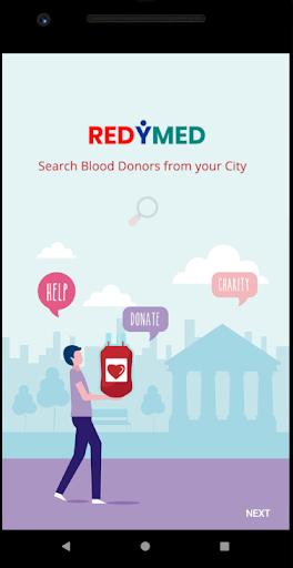 RedyMed - Blood Donor App screenshot 1