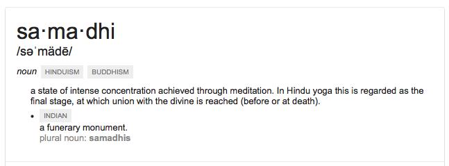 Samadhi - Path to Nirvana